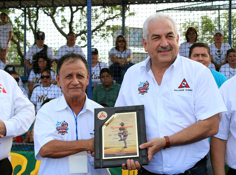 Inauguración nacional de ligas de beisbol pañalitos (1)