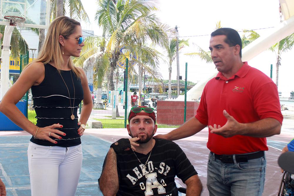 Visita Inés Sainz (1)