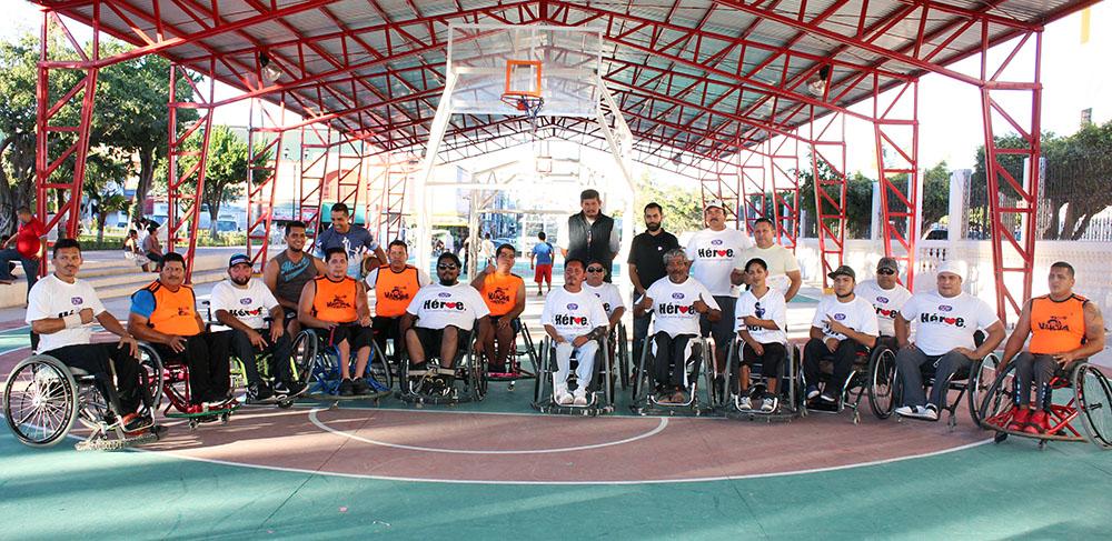 Ponen el ejemplo con encuentro amistoso de baloncesto en silla de ruedas instituto municipal - Baloncesto silla de ruedas ...
