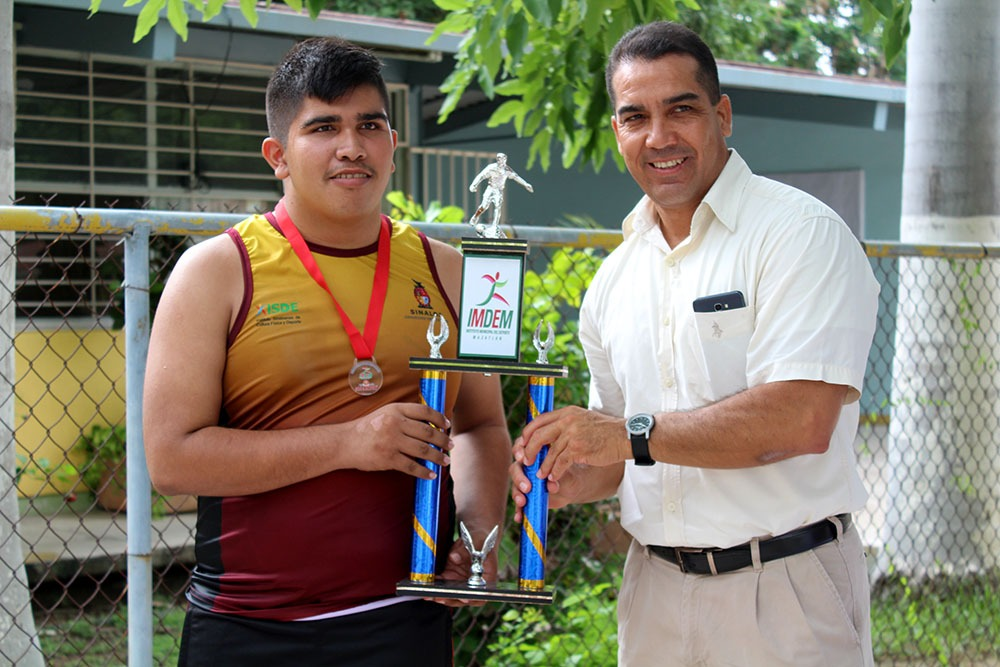 Premiación Liga de Fútbol Adaptado (2)